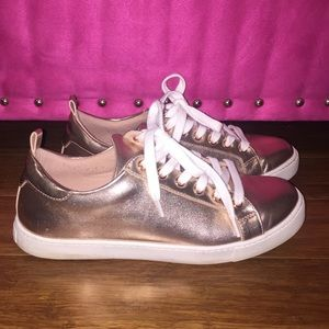 Aldo - Gold/Rose Gold Sneakers